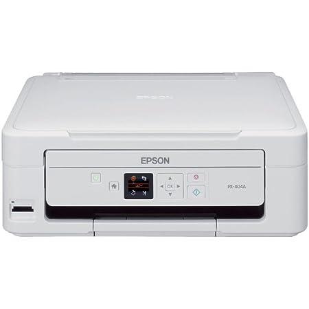 旧モデル エプソン Colorio インクジェット複合機 PX-404A 1.44型カラー液晶モニター・メモリーカードスロット搭載 文字がきれい4色独立顔料インク ベーシックモデル