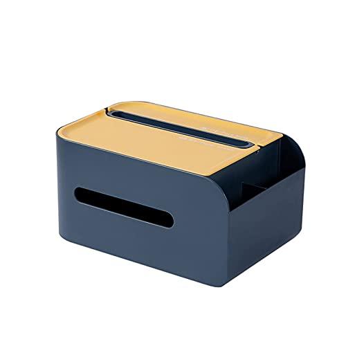 Hermosa Caja de tejido Caja de tejido, caja de cajones de papel, caja de almacenamiento de caja de tejidos, oficina / papelería / caja de almacenamiento de herramientas Caja de tejido multifuncional c