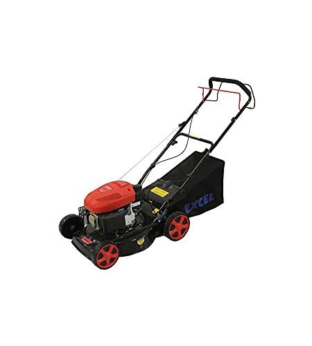 Excel CDF07156 Semovente Mulching Rasaerba a Scoppio, 139 cc, 46 cm, Rosso