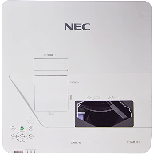 NEC Display NP-UM383WL Ultra Short Throw LCD Projector - 16:10-1280 x 800 - Front, Rear, Ceiling - 20000 Hour Normal ModeWXGA - 380000:1-3800 lm - HDMI - USB - 5 Year Warranty