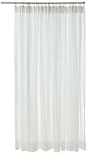 """Stylemaster Splendor Pinch Pleated Patio Panel, 96"""" by 84"""", White"""