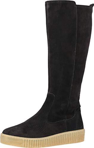 Gabor Damen Plateau Stiefel, Frauen Stiefel,Wechselfußbett,Best Fitting, langschaftstiefel reißverschluss,Pazifik (Natur),39 EU / 6 UK