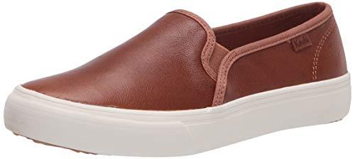 Keds womens Double Decker Leather Jjml Sneaker, Cognac, 8.5 US