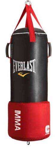 Everlast MMA4788 80lb OmniStrike Heavy Bag, Black, 80-Pounds