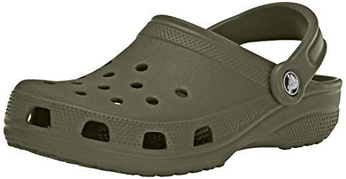 Crocs Classic Clog, Zuecos Unisex Adulto, Verde (Army Green 309), 42/43 EU
