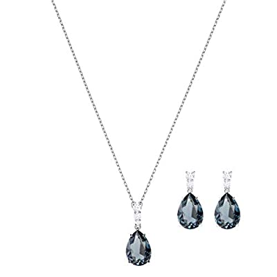 SWAROVSKI Women's Vintage Tear Drop Crystal Jewelry Collection