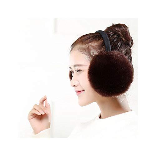 LULUTING Calentadores de oídos Oreja Ajustable Calentadores de la Felpa del Invierno de Las Orejeras del Invierno Caliente del oído Manguitos del oído Muchacha Mullido Orejeras Orejeras Mujeres Felpa