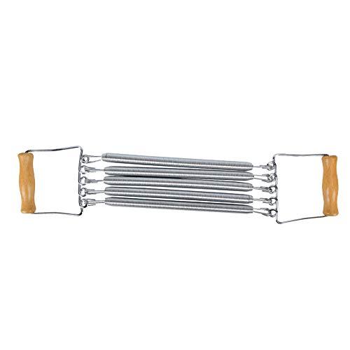 Esenlong Juego de bandas de resistencia para pedales con asas, cuerda elástica, 5 cables, para culturismo, para abdomen, cintura, brazos, piernas, yoga, estiramiento, pérdida de peso