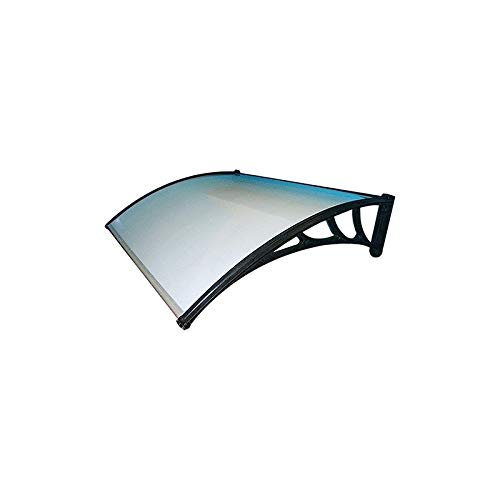 PENSILINA DA ESTERNO cm 120 x 160 - DP.104811 - In policarbonato compatto trasparente. Supporti in plastica.