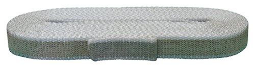 Corderie Italiane 006006503 Cintino per tapparelle, Colore Beige/Grigio, in Cotone, 22 mm, 7,5 mt