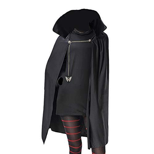 Rcinodhilary Hotel Transylvania Mavis Cosplay Disfraz Vampiro Princesa Mavis Disfraz de Fiesta de Halloween Conjunto Completo Traje para Mujeres niñas