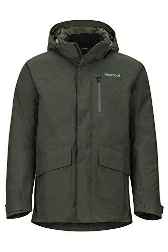 Marmot Herren Yorktown Featherless Isolierte Winterjacke, Stylischer Warmer Parka, Wasserdicht, Winddicht, Rosin Green, M