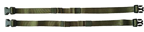 Berghaus Sangles de Compression 120 cm Vert Olive 2 Kit, Olive