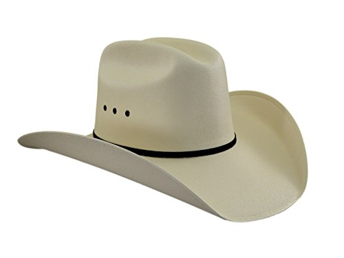 Lone Star Hats Western Straw Cowboyhut Rancherhut Turnierhut 55 cm