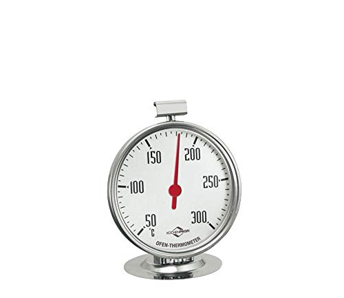 Küchenprofi Backofen-Thermometer, Edelstahl,