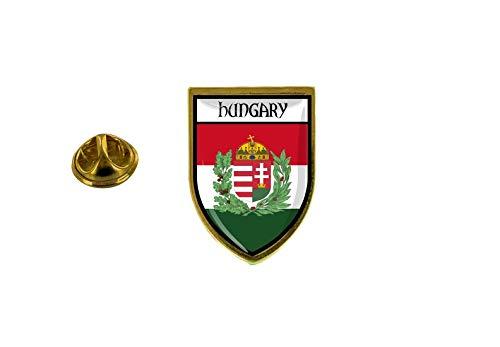 Akachafactory Anstecknadel Pin Anstecker Anstecker Stadt Flagge Ungarn R2