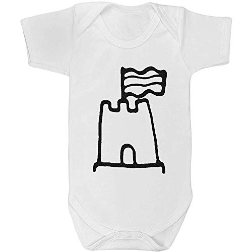 Azeeda 18-24 Mois 'Château de Sable' Body bébé Unisexe (GR00033204)