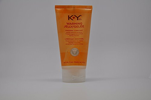 K-Y Warming Personal Lubricant Jelly 5 oz (Quantity of 4)