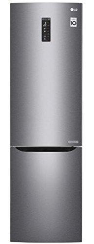 LG GBB60DSMFS frigorifero con congelatore Libera installazione Grafite, Acciaio inossidabile 343 L A+++