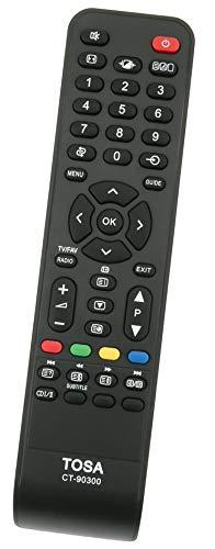 ALLIMITY CT-90300 Mando a Distancia Reemplazar Apto para Toshiba REGZA TV 32AV555D 32AV505DG 42AV555DG 32AV563D 32AV555DB 42AV505D 32AV503D 32AV505DB 32AV505 19AV505D
