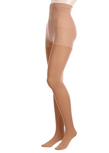 GLAMORY Damen Stützstrumpfhose Vital 70 DEN, Braun (Make Up), XXX-Large (Herstellergröße: 3XL-(56-58))