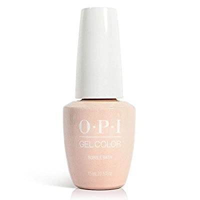 New Look GELCOLOR SOAK OFF GEL NAIL POLISH 0.5 OZ BUBBLE BATH GC S86 Free Gift: Random Nail Art Stickers included with purchase