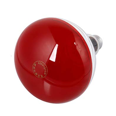 Infrarotlampe,Infrarot-Wärmestrahler rotlichtlampe wärmelampe waermelampe Rotlicht Strahler Infrarotlichttherapie 275W Behandlung von Erkältungen und Muskelverspannungen