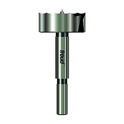 Freud PB-007 Precision Shear 1-Inch by 3/8-Inch Shank Serrated Edge Forstner Drill Bit