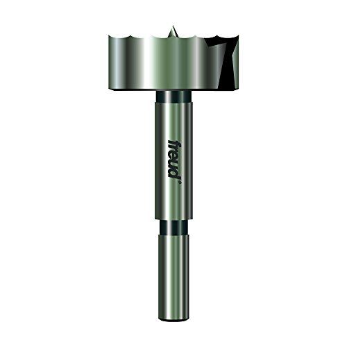 Freud Precision Shear Serrated Edge Forstner Drill Bit 1-1/2-Inch by 3/8-Inch Shank (PB-011)