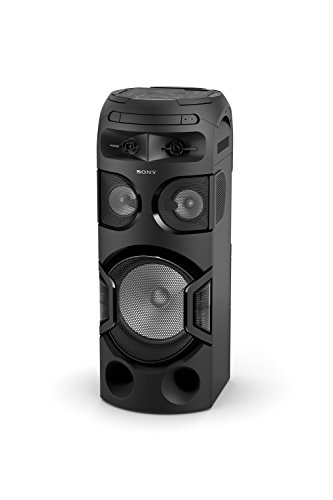 Sony MHC-V71D - Sistema Audio (Bluetooth, Luces de Fiesta 360 Grados, Modo Tambor Taiko, Control de Gestos, CD, DVD, USB, Entrada de Audio, HDMI)