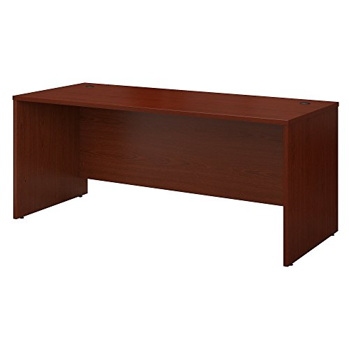 Bush Business Furniture Series C 72W X 30D Office Desk - Mahogany 71W X 29D X 30H ERGONOMICHOME BUSH BUSINESS FURNITURE