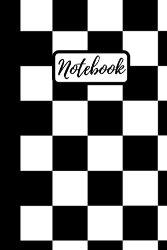 Compare Textbook Prices for Notebook | Lined Paperback Journal | 6 x 9 Inches | 120 Pages | Checkers | Black and White  ISBN 9798521454273 by Journals, Reckless