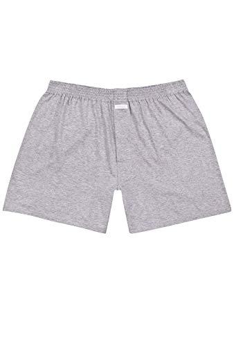 Ammann Herren Boxershort Basic Cotton 655962, grau Melange, 6