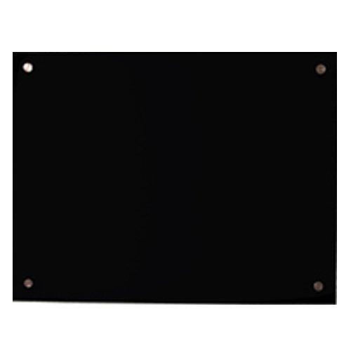 Mauk 1698 Infrarot Wandheizer Glas, 600 W, 106 x 66 cm, schwarz