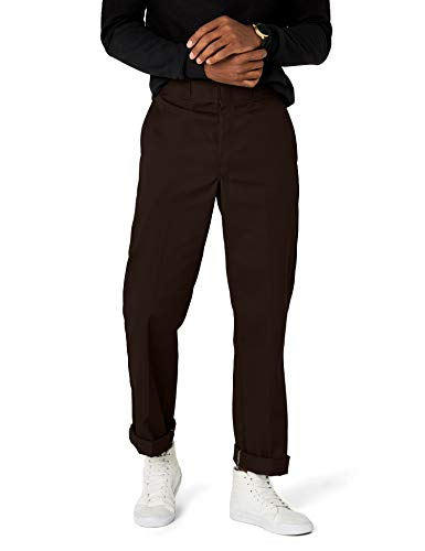 Dickies Herren Sporthose Streetwear Male Pants Original Work, Braun (Dark Brown DB), 36W / 34L