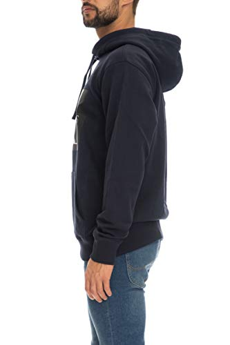Calvin Klein Jeans J30J307745 Monogram Box Logo Sweater Herren Night Sky XL