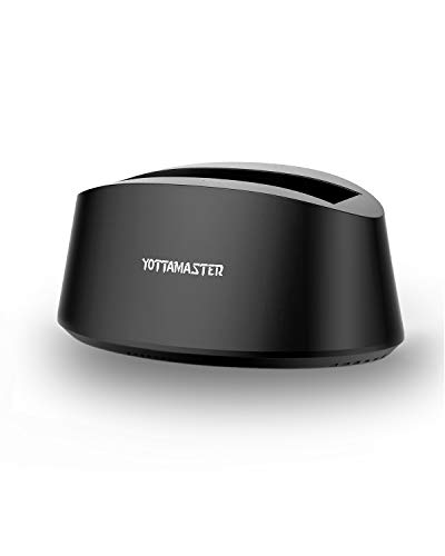 [ 10TB y UASP ] Yottamaster Base de Conexión Docking Station USB 3.0 para SATA HDD/SSD Windows/Mac/Linux