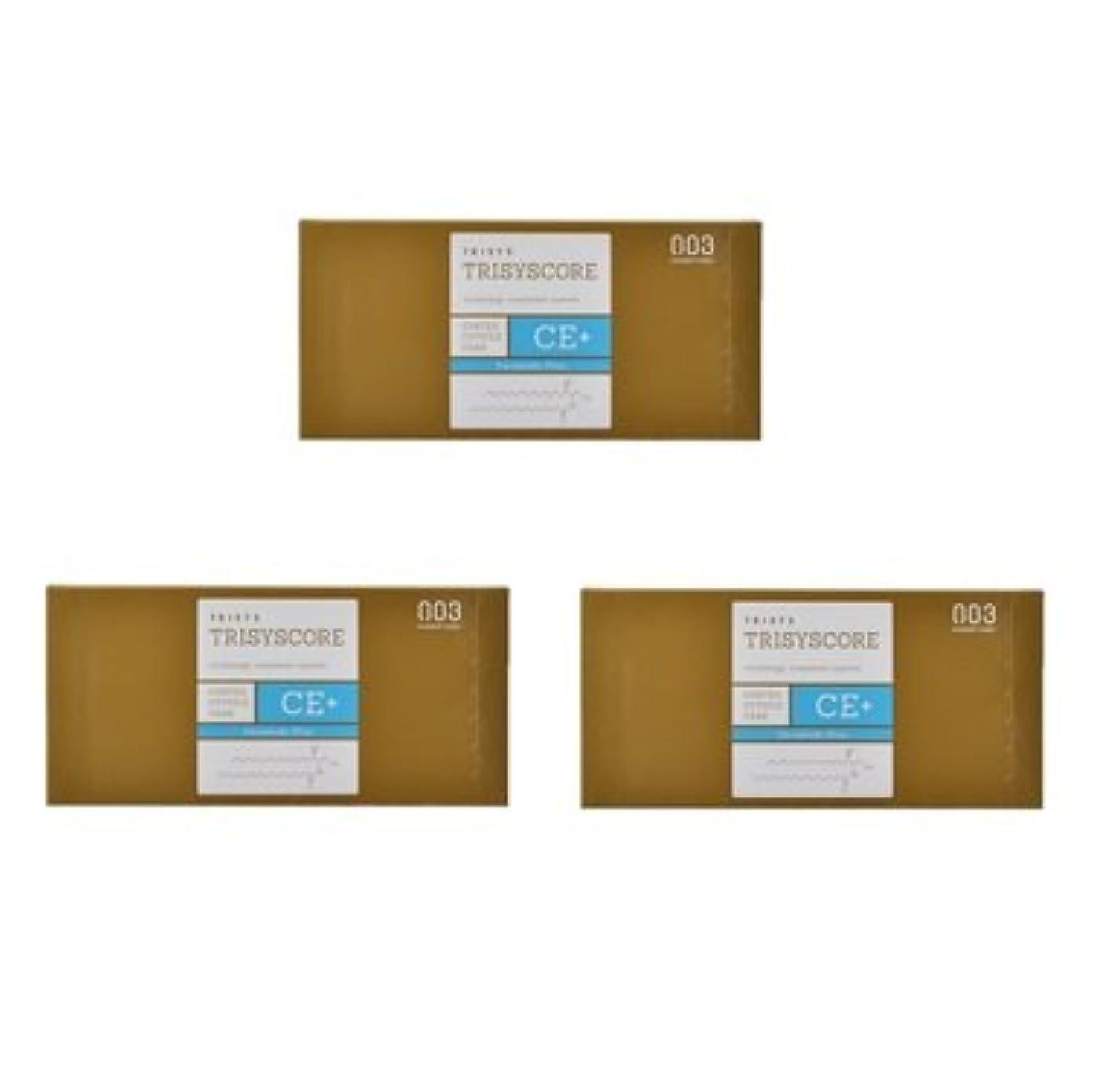 一時的徐々に封筒【X3個セット】ナンバースリー トリシスコア CEプラス (ヘアトリートメント) 12g × 4包入り