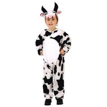 DISFRACES GILMAR Disfraz de Vaca Infantil - 7-9 años años: Amazon ...