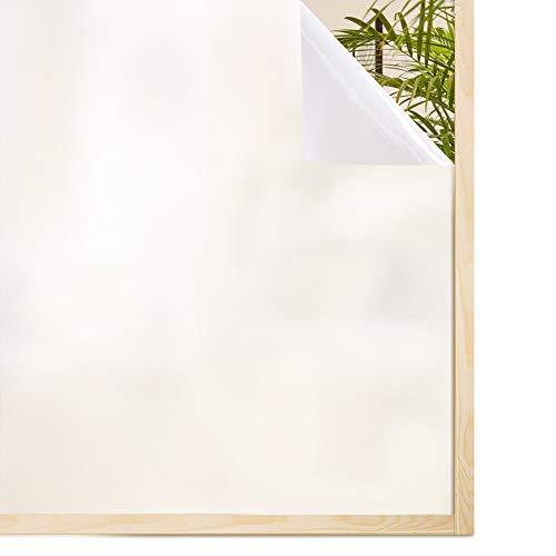 rabbitgoo Pellicola Privacy Pellicola per Vetri 90x200CM Anti-UV Controllo di Calore Pellicola Vetri per Ufficio Bagno Camera da Letto Sala di Riunione