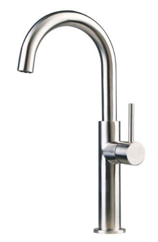 Acero inoxidable cocina/baño / lavabo/tocador tapas apropiadas cepillad 62a