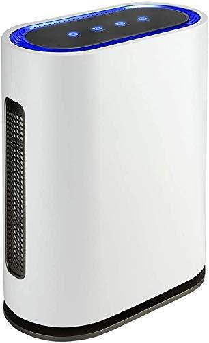 | OZONO | Filtro HEPA | Generador de Ozono Inteligente| Purificador Aire | 4 Filtros Alta Eficiencia | Luz Ultravioleta | Mando a Distancia | Sensor de contaminación | 4 potencias | 60W