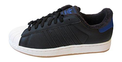 adidas Adidas Originals Superstar II, Herren Turnschuhe - SCHWARZ/WHTVAP/CROYAL B26869, uk 10 us 10.5 eu 44 2/3