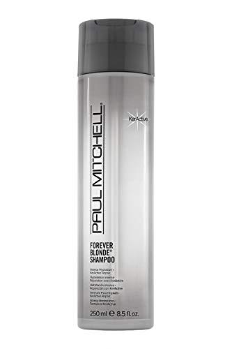 Paul Mitchell Forever Blonde Shampoo - Shampoo für blondes Haar ohne Sulfate, Hair-Care für aufgehelltes Haar und blonde Highlights, 250 ml