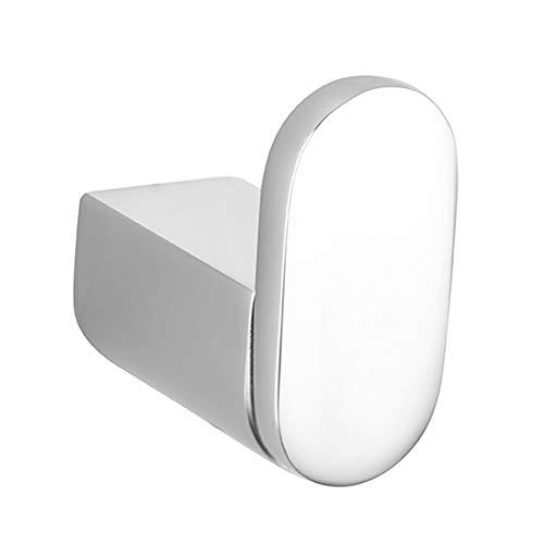 Handheld Gancho de pared Colgante de pared de cromo y cobre completo Capa de metal Gancho de toalla Baño Rob Para el baño