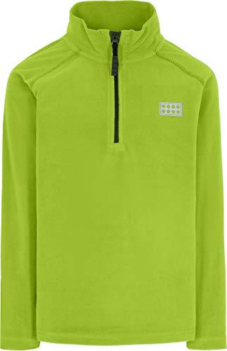 Lego Wear Jungen Half-Zip Jacket Fleece-Jacke, Verde Lima (Lime Green), 104