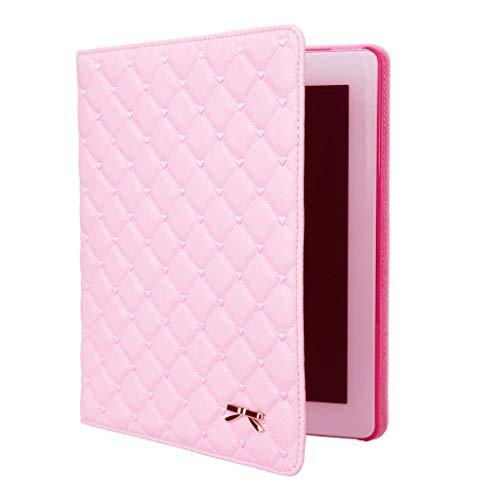 RubyShopUU Love Heart case Cover for Apple iPad 2 pu Leather for iPad 3 ipad 4 Tablet Case 9.7' Wake Up Sleep Smart Stand Bag