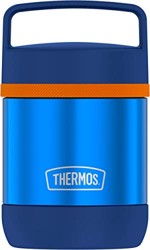 Thermos Stainless Steel Vacuum 10 Ounce Food Jar, Blue