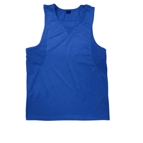 Ringside In-Stock Boxing Jersey (Blue, Medium)