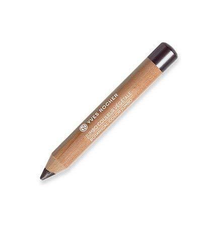 Yves Rocher COULEURS NATURE Jumbo Lidschattenstift COULEUR VÉGÉTALE Or gris nacré, Eyeshadow-Stick, in Anthrazit, 1 x Stift 1,7 g